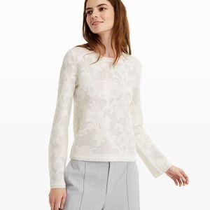NWOT Club Monaco iolana sweater wool blend